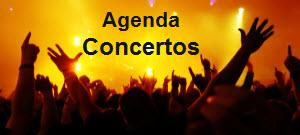 agenda concertos
