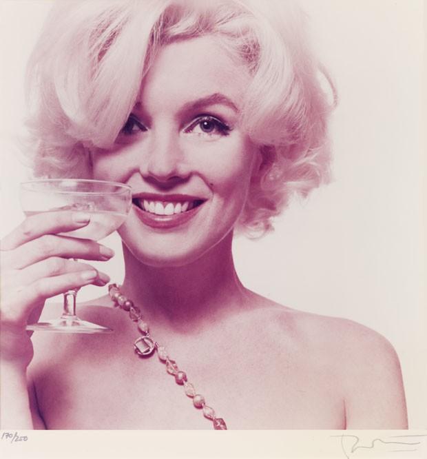As fotos são o último ensaio antes da morte de Marilyn Monroe (Foto: Bert Stern/Freeman's/AP)
