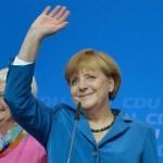 Vitória de Angela Merkel em legislativas alemãs