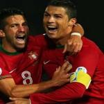 Portugal bate Irlanda Norte com o triplet de Ronaldo
