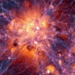 Uma equipa de cientistas criou simulação da evolução do universo