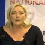 Marine le Pen o rosto da extrema-direita em França e na UE