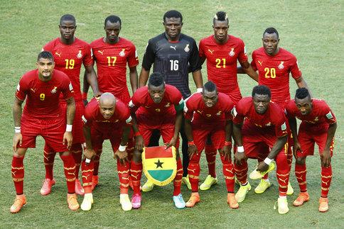 Equipa do Gana