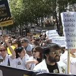 Os médicos aderiram à greve greve em todo o país