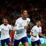 Cristiano Ronaldo tornou-se no melhor marcador da história da UEFA