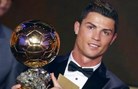 Cristiano Ronaldo - Bola de Ouro