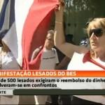 BES gatunos são as palavras de ordem em manifestação no Porto