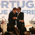 PSD e CDS-PP venceram sem maioria absoluta as legislativas