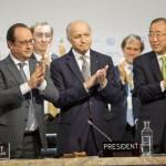 195 países assinaram acordo contra aquecimento global
