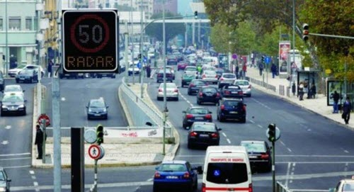 Radares em Lisboa