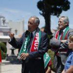 Milhares de pessoas na Alameda com discurso de Marcelo