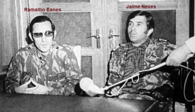 Ramalho_Eanes_Jaime_Neves_1975