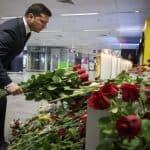 Presidente da Ucrânia pede ao Irão justiça e indemnizações por abate de avião
