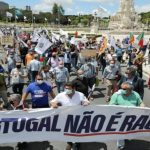 """André Ventura manifestou para dizer: """"Portugal não é um país racista"""""""
